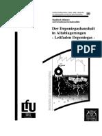 29966-Der Deponiegashaushalt in Altablagerungen