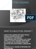 Multi-Fuel Engines