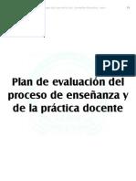 PEC Evaluacion docencia