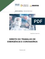 2021-02- Informativo de Direito do Trabalho e Coronavírus