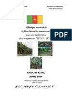 Stratégie filière banane Cameroun 2010-2019 (final  mis en forme)
