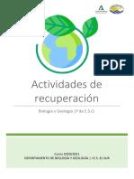 ByG 1º ESO - CUADERNILLO DE RECUPERACIÓN (2)