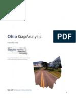 Ohio Gap Analysis Final- AP 2011