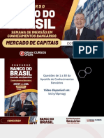 Concurso Banco Do Brasil Semana de Imersão Em Conhecimentos Bancários – Mercado de Capitais