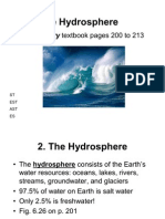 Chapter 6 - The Hydrosphere - BB