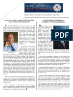 GOP Newsletter - April 2011