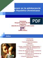 Embarazo en la adolescencia en la República Dominicana