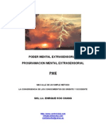 Poder Mental Extrasensorial PME3