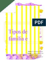 Tipos de familia e hijos