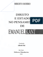 Norberto Bobbio - Direito e Estado no Pensamento de Emanuel Kant - Ano 2000