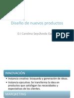 diseño de nuevos productos
