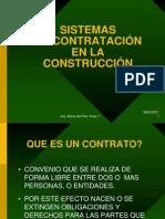 SISTEMAS DE CONTRATACIÓN EN LA CONSTRUCCIÓN