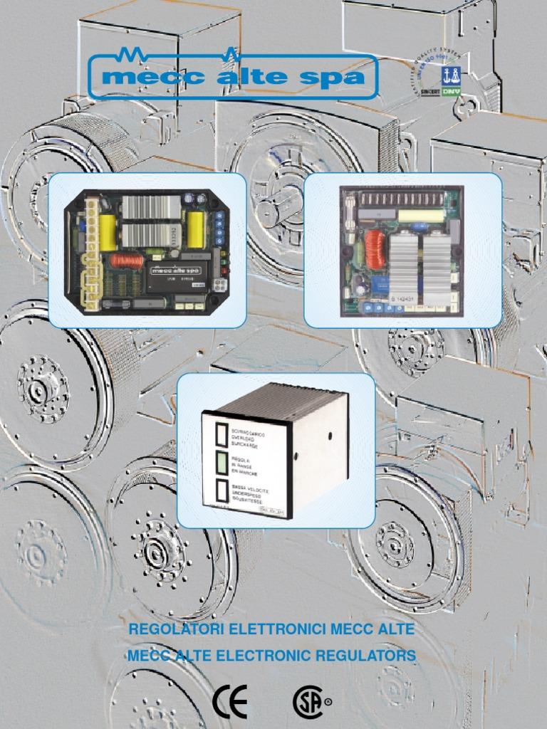 Regulator Mecc Alte Sr7 Fuse Electrical Equipment Voltage Wiring Diagram