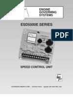 speed control GAC ESD5500