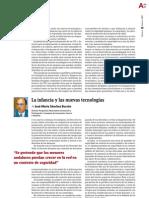 La infancia y las nuevas tecnologías (AndaluciaInvestiga)