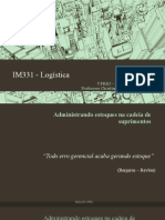 09 - IM331 - Administrando Estoques Na Cadeia de Suprimentos
