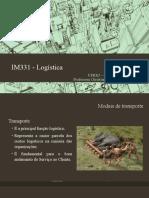 06 - IM331 - Modais de Transporte