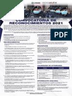 Convocatoria de reconocimientos Seguridad Edomex 2021