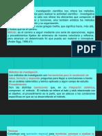 11. Métodos de investigación