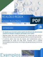 Aula - Reações REDOX