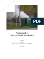 Assessment of Outdoor Wood-Fired Boilers-NESCAUM Report March 2006