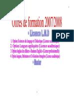 programme LMD