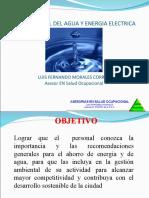 USO RACIONAL DEL AGUA Y LA ENERGIA AGO 2012