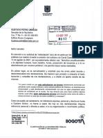 Respuesta de Claudia López a Petro
