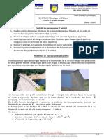Examen de Mécanique Des Fluides 2019