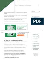 5 Outils de La Stratégie d'Entreprise _ Comment en Profiter