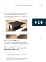 Certifications en Management de Projet _ PMP, PRINCE2,..