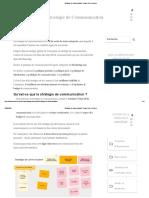 Stratégie de Communication _ Étapes Clés Et Enjeux