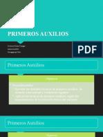 PRIMEROS AUXILIOS 1