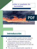 Charla Prevención y combate de incendios advance
