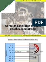 Atuador IAC Bosch Monomotronic M1.7
