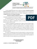 Certificacion de Ingresos Rosmary
