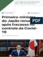 primeiro-ministro do japão renuncia