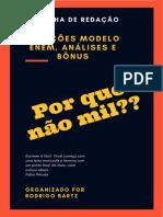 E-book Redação Por Que Não Mil, 1ª Edição