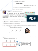 Guía 5 Resolución de problema sustracción_3° básicoA y B