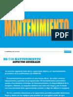 MANTENCION DE710