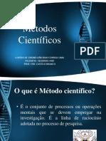 MODELOS BÁSICOS DE ARGUMENTAÇÃO MÉTODO INDUTIVO E DEDUTIVO