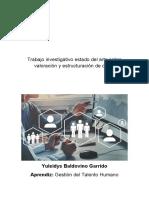 Valoración y Estructuración de Cargo