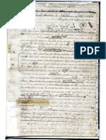 Manuscrito - 1815 - Carta de Jamaica