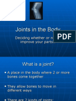 Joints in the Body