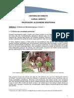 História Do Direito_semana 2_texto Base_o Direito Dos Povos Sem Escrita