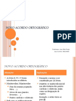 Acordo Ortográfico - 2011-2012