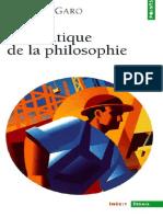 Isabelle Garo - Marx _ une critique de la philosophie -Seuil (2000)