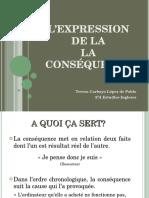L'expression de la conséquence en français