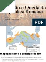 Ascensão e queda da República Romana