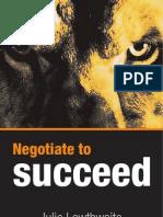 negotiate to success